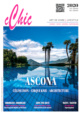 cChic Magazine 01 Ascona Céline Dion Knie