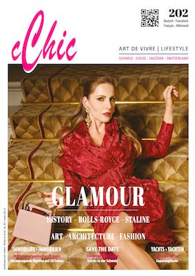 cChic Magazine 02 Glamour Rolls-Royce Staline Art Fashion